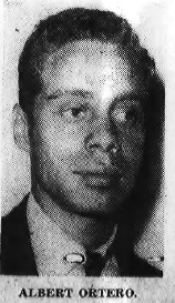 Albert Ortero President of the Corinthians Social Group 1960