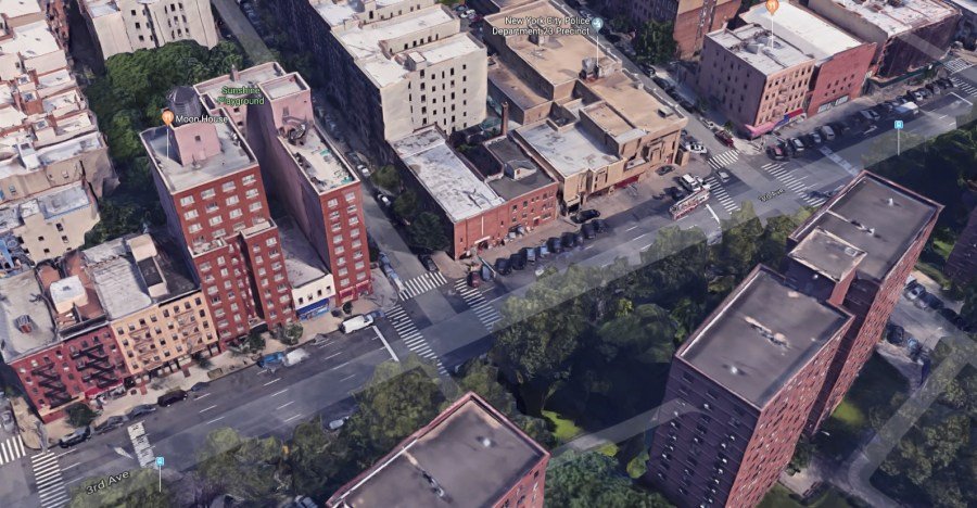 East 101st Street and Third Avenue Manhattan