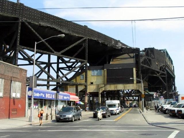 Smith & Ninth Subway Station Brooklyn