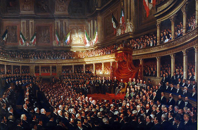 Proclamation of the Kingdom of Italy