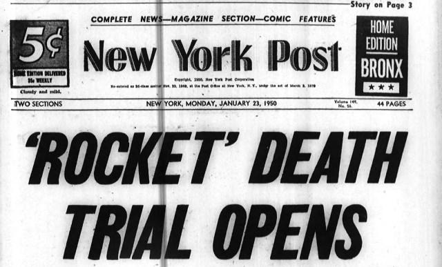 Rocket Death Trial Opens