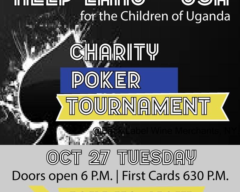 Charity Poker Fundraising for the Children of Uganda | LAHU-USA