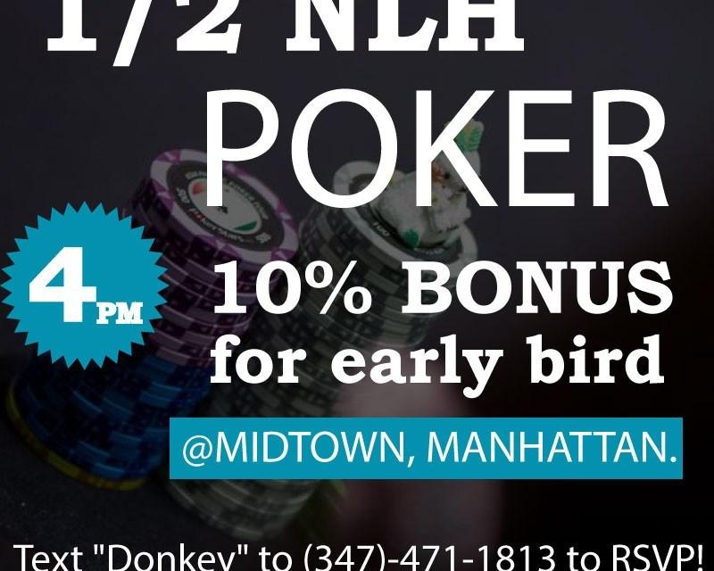Poker Games: September 2nd, 2015, Wednesday