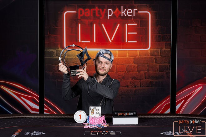 Dmitry Chop Wins the partypoker Million Sochi Main Event