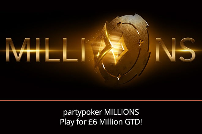 partypoker Confirms Full MILLONS Schedule With More than £8M Guaranteed