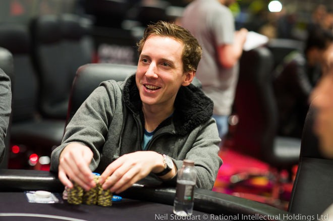 Michael Egan leads the Super High Roller at the PokerStars Championship Macau after Day 1.