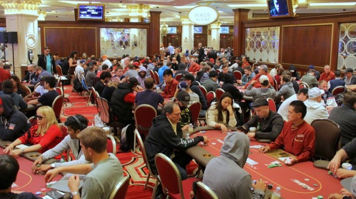 Huge Turnout Juices Prizepool At Card Player Poker Tour Venetian Main Event