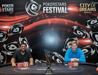 PokerStars Festival Manila: Three more fall, heads up set to start