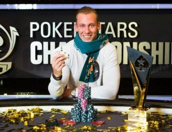 Sebastian Sorensson Wins 2017 PokerStars Championship Barcelona Main Event
