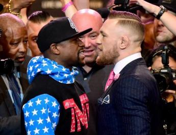 Mayweather Took Fight Because He's A Degenerate Gambler At Vegas Casinos, McGregor Speculates