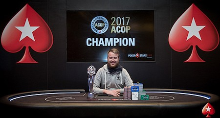 Dietrich Fast Wins 2017 Asia Championship of Poker Super High Roller