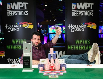 Loannis Konstas Defeats Tobias Peters To Win WPTDeepStacks Netherland Main Event