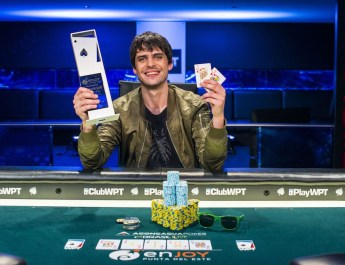 Argentinas Juan Gonzalez Wins First - Ever WPT Uruguay Main Event