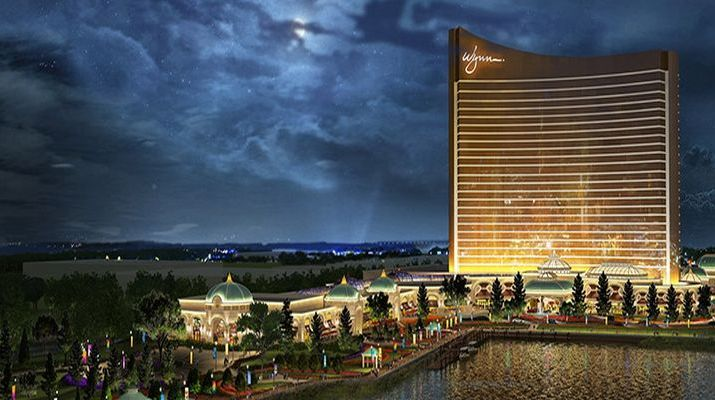Construction On Schedule For $2.4 Billion Wynn Casino