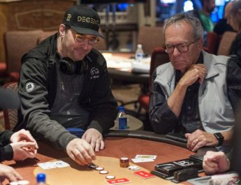 Julian Parmann Leads Final 44 At Bellagio; Phil Hellmuth Last In Chips