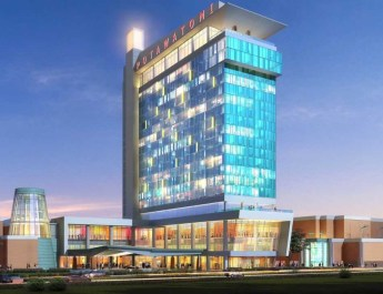 Potawatomi Hotel & Casino Tops Off $80-Million Hotel Expansion