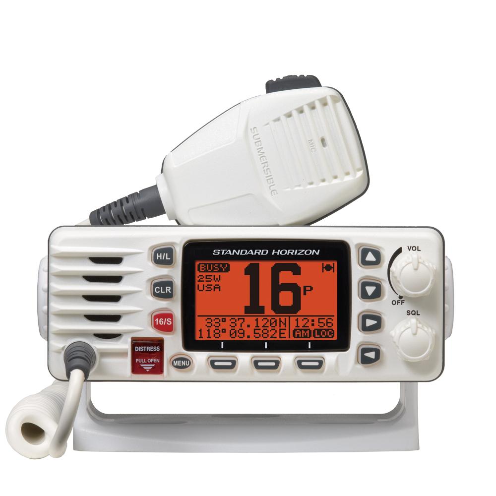 Standard Horizon GX1300W Eclipse Ultra Compact Fixed Mount VHF – White