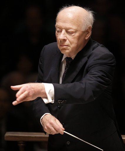 Bernard Haitink conducted the Boston Symphony Orchestra Tuesday night at Carnegie Hall