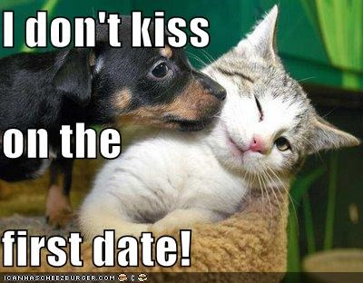 Kissing on the first date