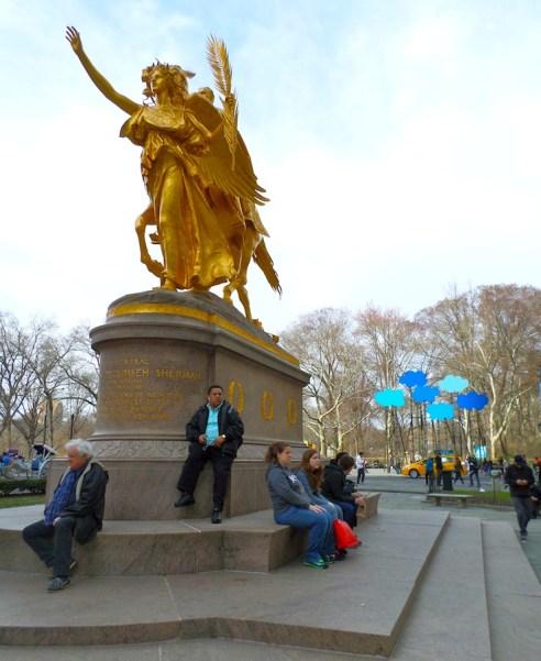 olaf breuning public art clouds statue