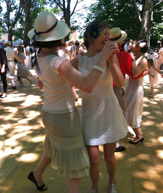 jazz age lawn party dancing
