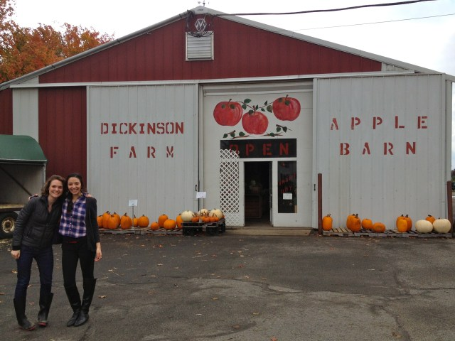 dickinson farm apple picking