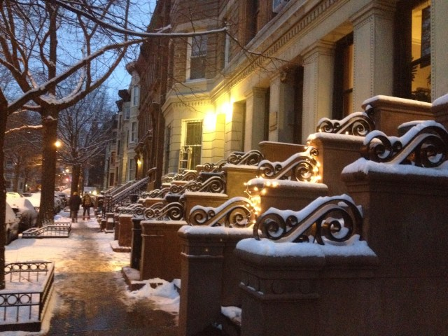 harlem snow