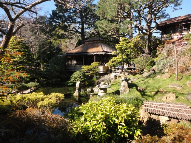 japanese tea garden SF tea house