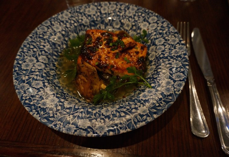 Red Rooster Hearth Roasted Salmon