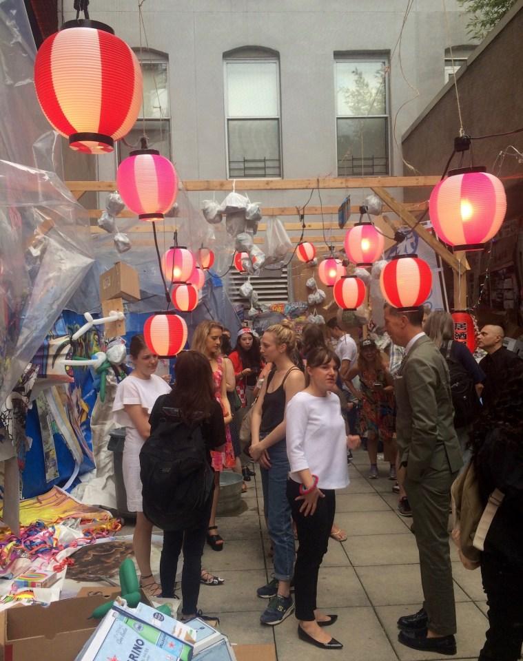 chelsea art gallery opening