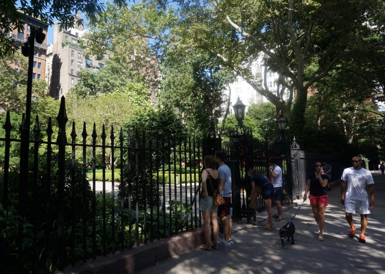 gramercy park outside