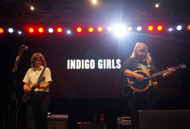 indigo girls central park