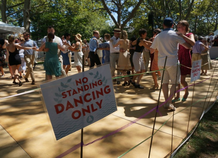 jazz age lawn party dancing only