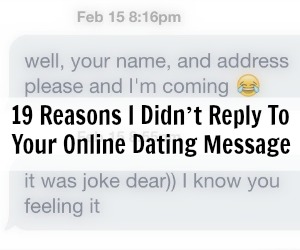 Online dating she didnt respond