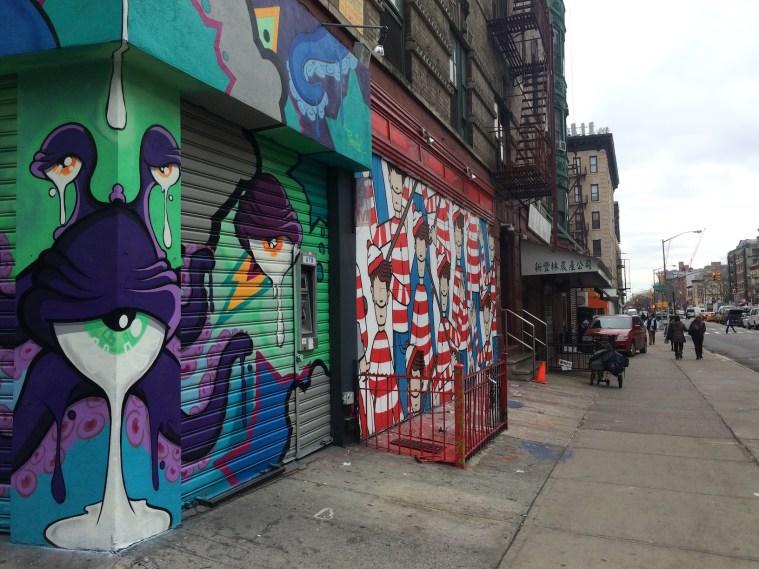 waldo street art nyc