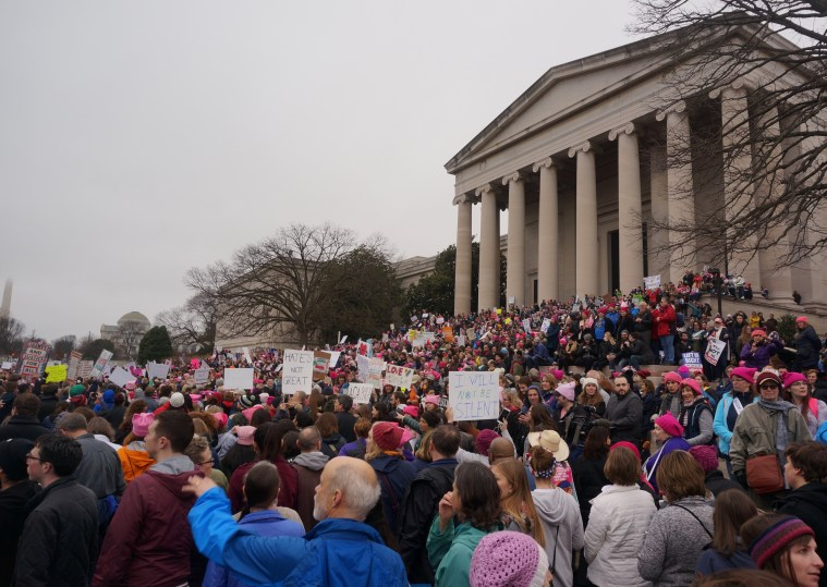 womens march washington dc steps
