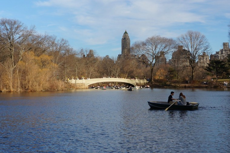 central park boats february