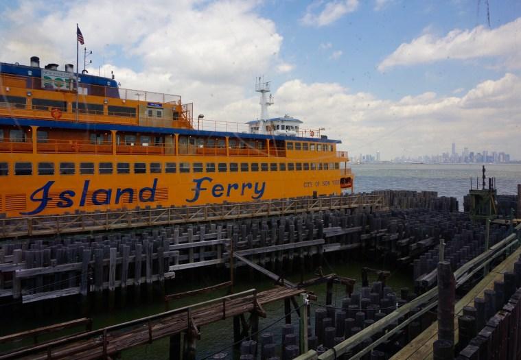 Staten Island Ferry SI terminal
