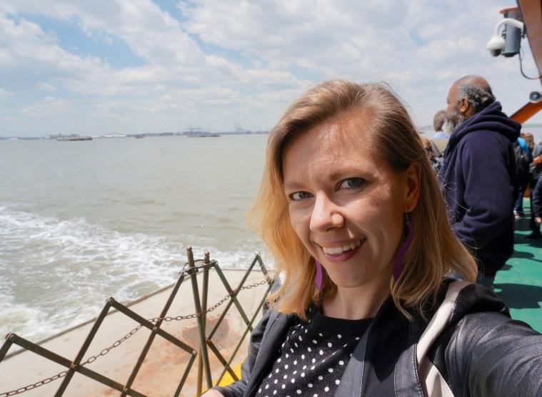 Staten Island Ferry selfie