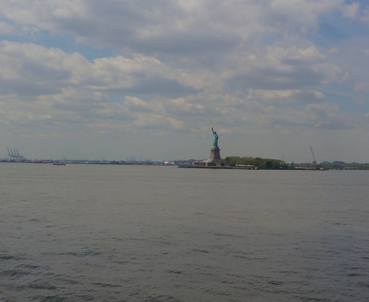 Statue of Liberty Staten Island Ferry