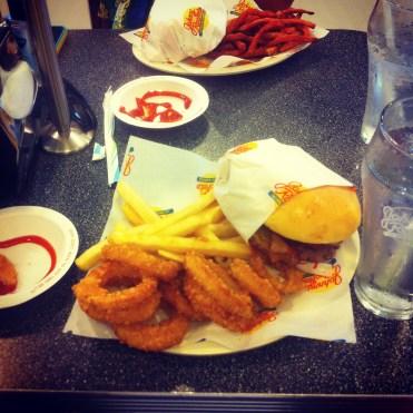 My Light lunch...