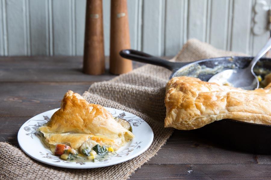 Warming Chicken and Mushroom Pie