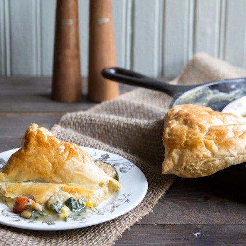 Warming Chicken and Mushroom Pie