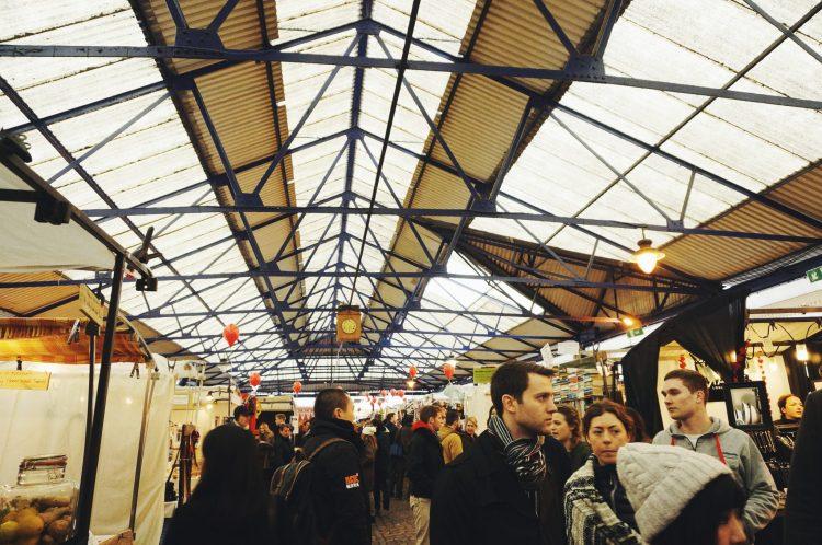 New Yorker Meets London Greenwich Market