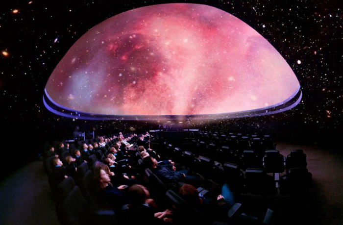 Star-gazing Planetarium London