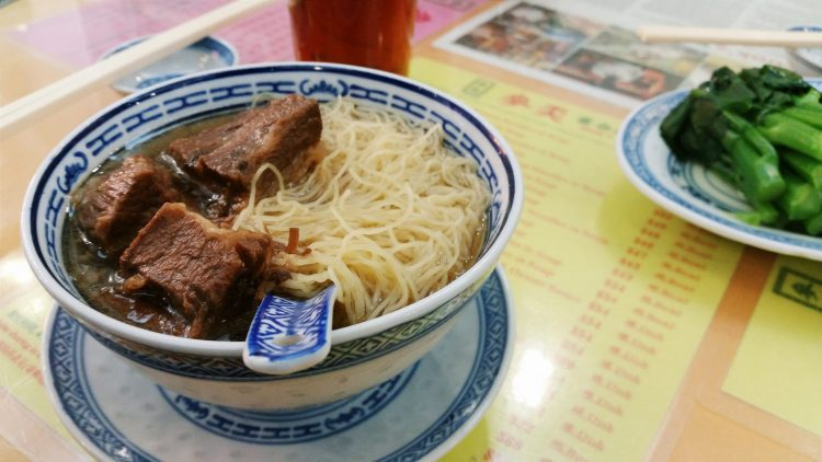 Mak's Noodles Beef Brisket, one of the best places to eat in Hong Kong