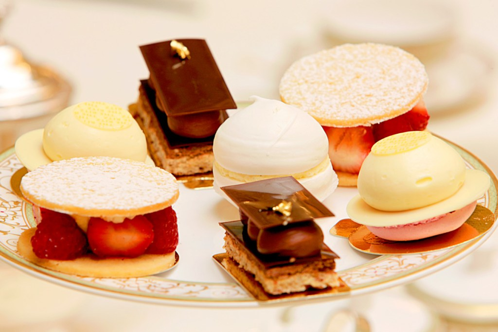 ritz afternoon tea