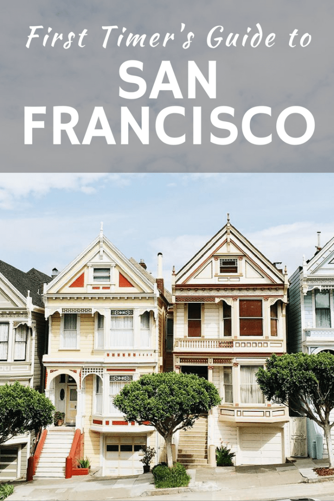 A useful guide for your first trip to San Francisco and the drive from San Francisco to Los Angeles. 3 day itinerary in San Francisco, travel tips to San Francisco
