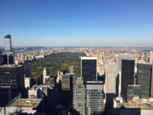 Manhattan Skyline Central Park View