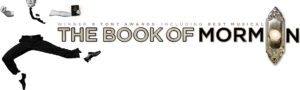 The Book of Mormon Broadway logo